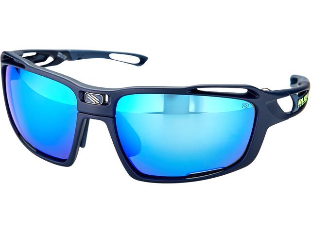 Rudy Project Sintryx Lunettes, blue navy matte - polar 3fx hdr multilaser blue